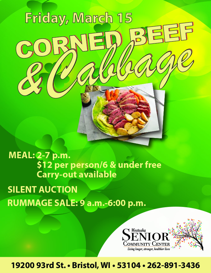 2019 Corned Beef & Cabbage Flyer