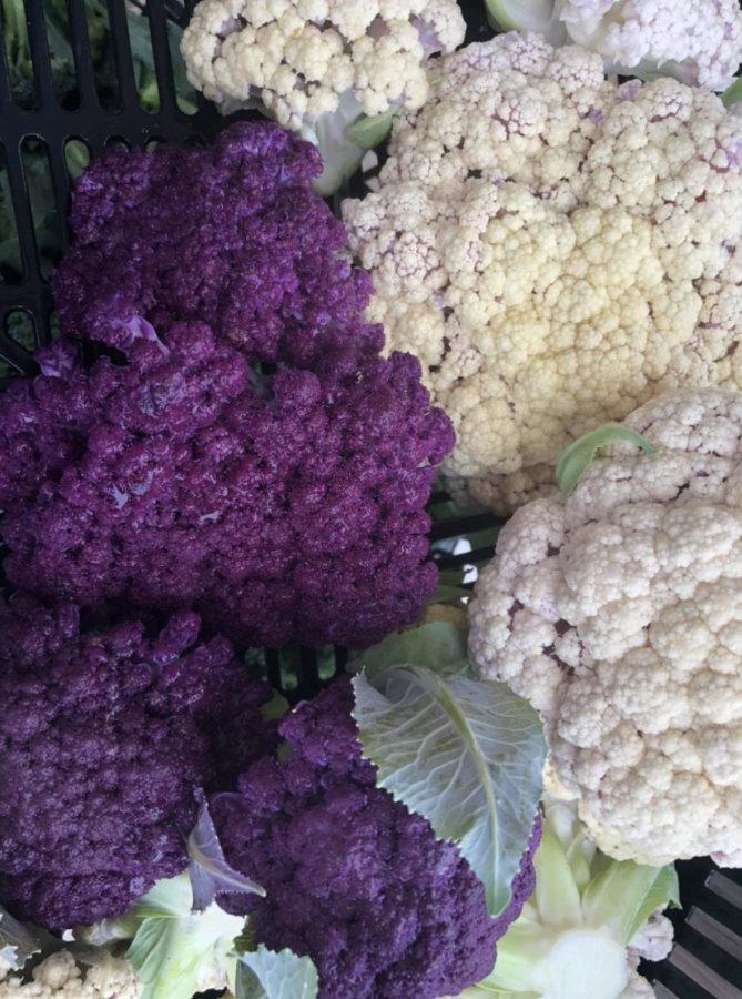 G purple white cauli